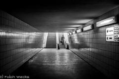 Tunnel unter dem Elbinger Platz in den 70ern